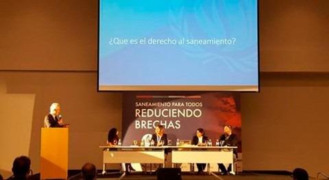 """Léo Heller: """" derechos humanos al agua y saneamiento ponen más vulnerables centro"""""""