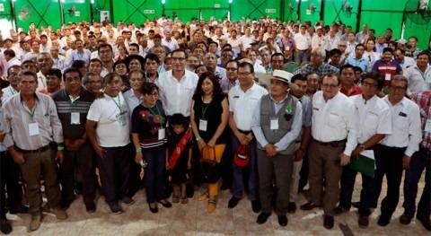 Gobierno Perú apoyará modificación Ley Organizaciones Usuarios Agua