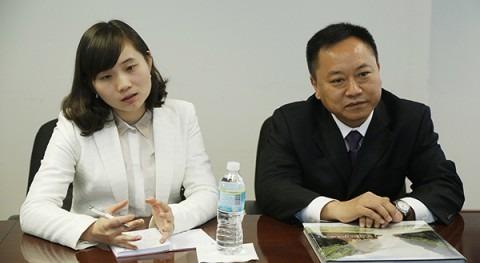 Li Guoying, Viceministro de Recursos Hídricos de la República Popular de China