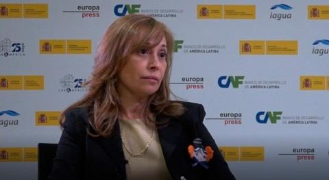 "Liana Ardiles: ""España tiene gran experiencia materia infraestructuras"""