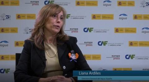 """Liana Ardiles: """" gestión agua requiere soluciones, diálogos y consenso todos países"""""""