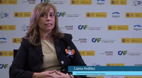 """Liana Ardiles: """" decisiones agua tienen que estar amparadas políticas estado"""""""