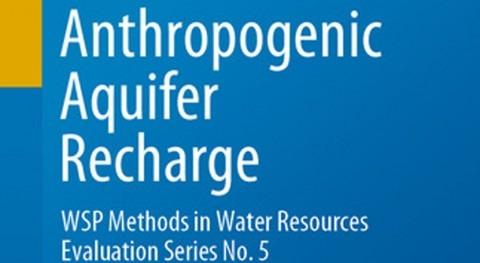 "Nuevo libro recarga acuíferos ""Anthropogenic Aquifer Recharge"""