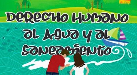 """Libro niños y adolescentes """"Derecho humano al agua y al saneamiento"""""""