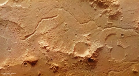 sonda Mars Express capta testimonios aguas pasadas Marte