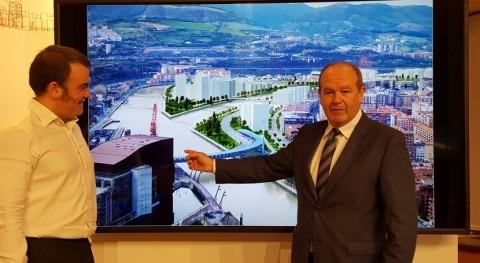 Licitadas obras finalización apertura Canal Deusto Bilbao