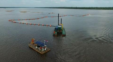 Gobierno prepara licitación dragado río Paraguay