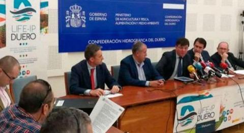 CHD coordina proyecto europeo LIFE DUERO recuperación cuencas varios ríos