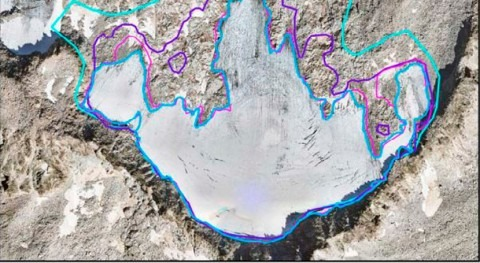 glaciar Maladeta, Huesca, presenta 2019 balance negativo