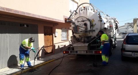 Aqualia extrae 145.000 kilos residuos alcantarillas Morón Frontera