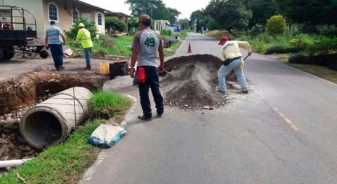 Gobierno Panamá trabaja limpieza drenajes prevenir inundaciones Bugaba