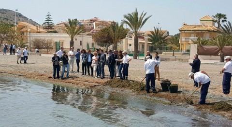 Murcia pone marcha servicio vigilancia espacios naturales Mar Menor