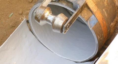 Suez Advanced Solutions utiliza nueva tecnología Spray Lining impermeabilizar tuberías