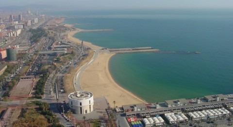 contaminación metales pesados  costa Barcelona decrece gracias depuradoras