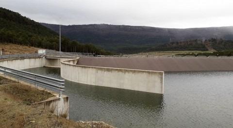 lluvias permiten completar llenado embalse Molino, Álava, primera vez