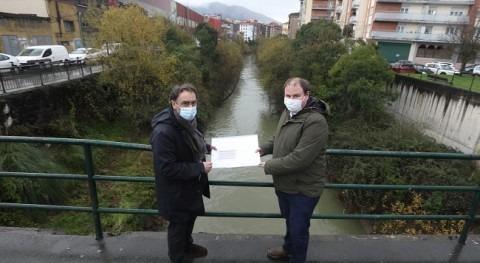 URA y Ayuntamiento Laudio impulsan obras defensa inundaciones municipio