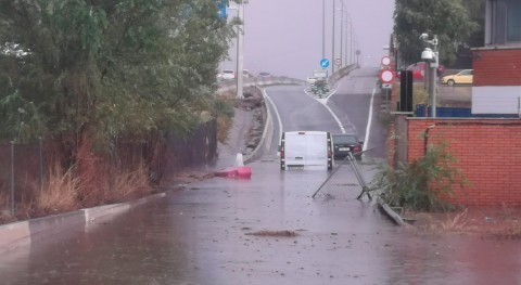 impresionantes imágenes tormenta Madrid: inundaciones y cortes tráfico