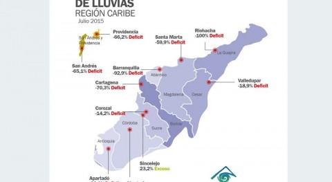 Niño se intensifica Colombia, provocando déficit lluvias