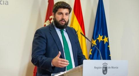 Gobierno Murcia prepara decreto ley protección integral Mar Menor