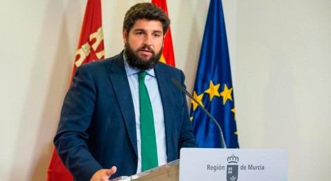 """López Miras asegura que muerte peces Mar Menor """"no se debe ningún tipo vertido"""""""