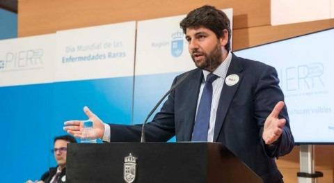 "López Miras: ""Cerrar Tajo-Segura está hoja ruta Gobierno socialista España"""