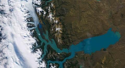 Imagen fue tomada por el satélite Landsat-8 el 28 de febrero de 2014 (fuente: ESA)