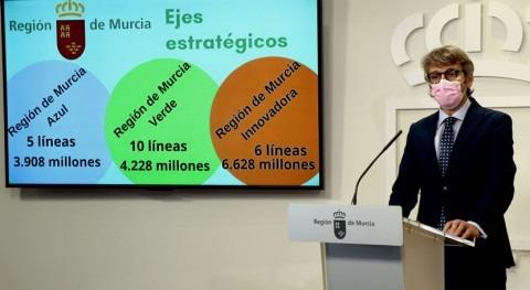 Murcia prioriza recuperación Mar Menor, agricultura precisión y digitalización