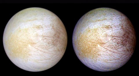 Pruebas luna helada Júpiter revelan vapor agua persistente hemisferio