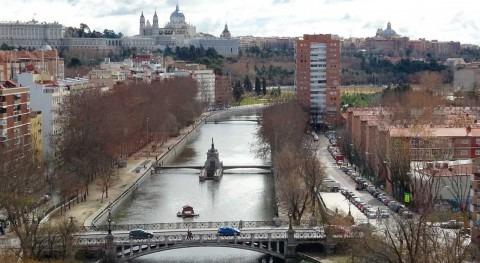 Renaturalización río Manzanares paso ciudad Madrid