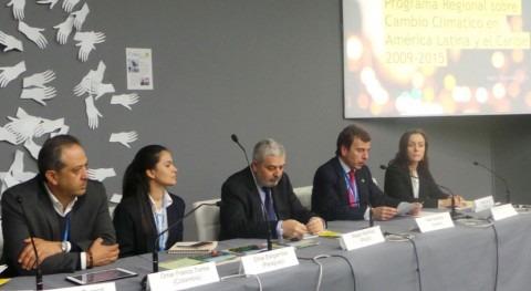 España y PNUD presentan acciones cooperación y cambio climático América Latina y Caribe