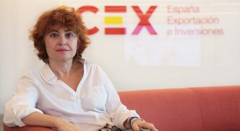 """María Peña: """" agua está ganando cada vez más peso actividad ICEX"""""""