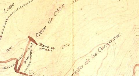 Estructuras y elementos patrimoniales Presa Chira Es.I.. Proyecto #ChiraSoria