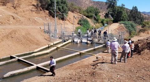 Chile inaugura proyecto automatización compuertas Canal Mallarauco