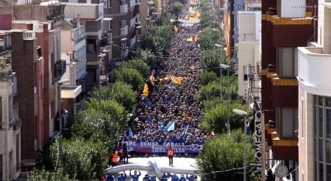 "Plataforma Defensa l'Ebre califica ""histórica"" marcha Plan Hidrológico"