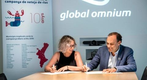 Global Omnium y Ecovidrio impulsan acción 30 municipios valencianos limpiar ríos