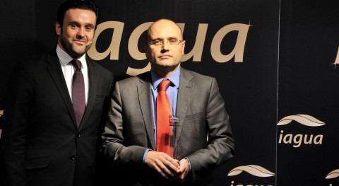 Manuel Cermerón, Director General de Aqualogy S&T, recibió el Premio iAgua a Mejor Entidad