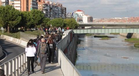 """"""" río Manzanares pie"""" sacará luz tesoros río principal Madrid"""