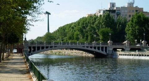 desembalsado Manzanares reduce 25% filtraciones agua Calle 30