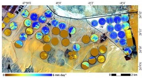 gran paso calcular agua que utilizan cultivos