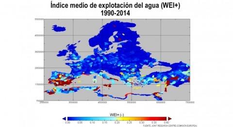 """mapas que demuestran que España está cometiendo """"suicidio hídrico"""""""