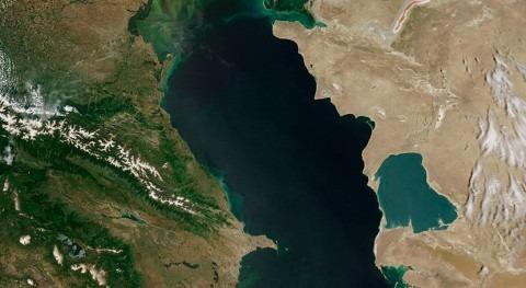 otra cara cambio nivel mar: Mar Caspio