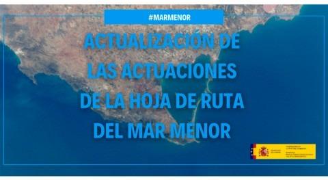 MITECO publica actualización informe actuaciones Mar Menor