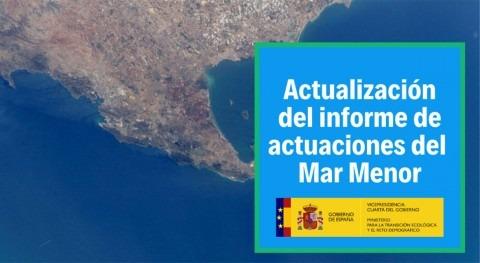 MITECO trabaja recuperación Mar Menor priorizando soluciones basadas naturaleza