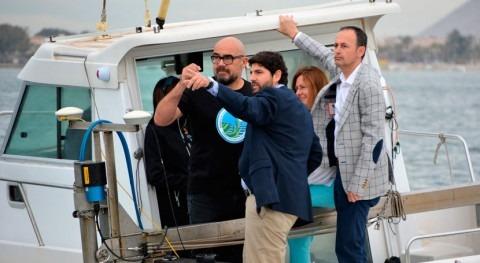 """López Miras: """"Es responsabilidad todos trabajar completa recuperación Mar Menor"""""""