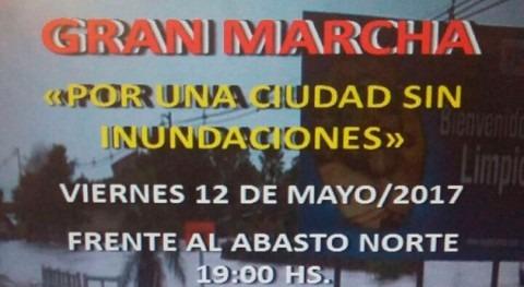 """Limpeños marcharán """"Ciudad Inundaciones"""" frente al Abasto Norte, Paraguay"""