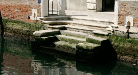 Venecia se queda agua