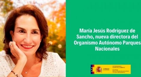 María Jesús Rodríguez Sancho, nueva directora Parques Nacionales