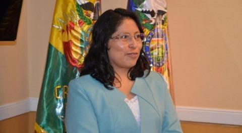 María Eugenia Choque, nueva directora general EMAGUA Bolivia