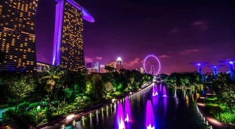 Singapur, estanque contaminado potencia verde mundial