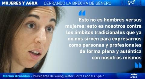 """Marina Arnaldos: """" conjunción joven mujer es bastante complicada"""""""